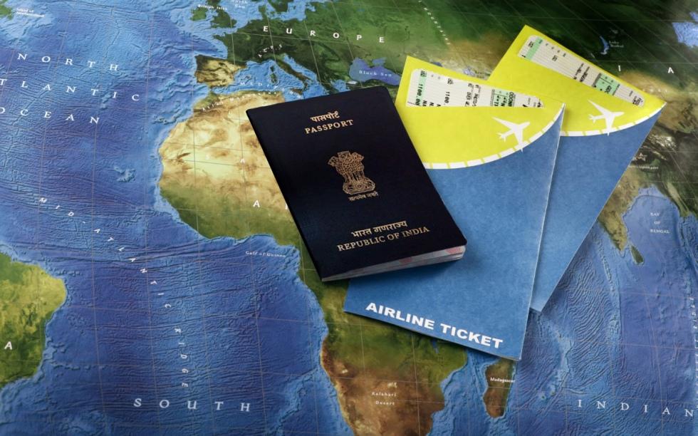 world-travel-tourism-passport-visa-plane-ticket